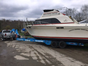 Boat haulage and delivery