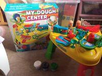Play dough table