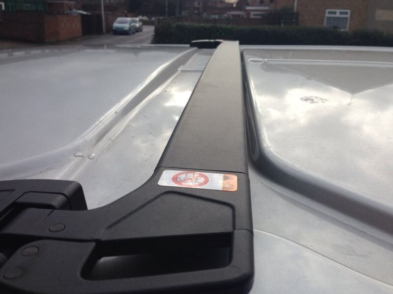 Ford Transit Custom Folding Roof Bars