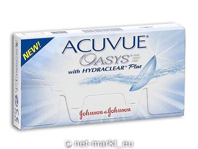 Acuvue Oasys Hydraclear PLUS 6 Kontaktlinsen - OHNE OVP! - AUSVERKAUF!