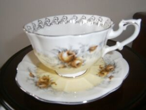 EXCEPTIONAL ROYAL ALBERT CUP AND SAUCER