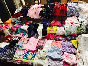 Baby girl's clothes from 3-6months, 6-12months, 12-18 months