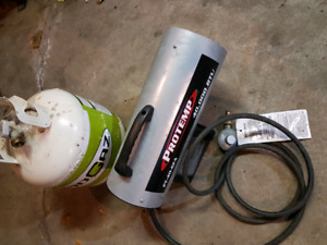 Portable propane heater 40,000 btu