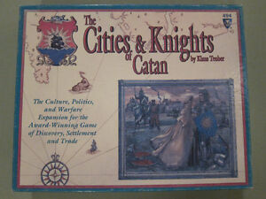 Cities and Knights of Catan 3rd Edition + 5-6 Player Expansion