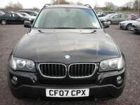 2007 07 BMW X3 2.0 D SE 5D 148 BHP DIESEL