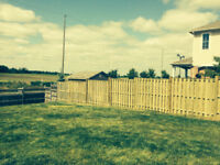 Fences builds to suit your needs.