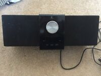 Logitech iPod dock and speakers