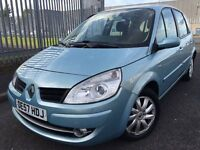 Renault Scenic 1.5 DCi Diesel 2008 + FULL SERVICE HISTORY + 12 MONTHS MOT + 2 KEEPERS FROM NEW