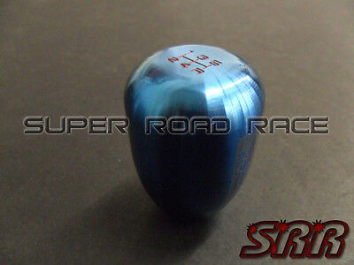 BLOX RACING 5 SPEED SHIFT KNOB 12X1.25 TORCH BLUE SUBARU FOR TOYOTA