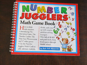 "BRAND NEW - ""Number Jugglers"" Book with Cards"