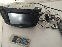 """7"""" HD GPS SAT NAV & DVD, TOUCH SCREEN & BLUE TOOTH"""