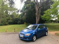 2005/55 Chevrolet Kalos 1.4 SX 3 Door Hatchback Blue