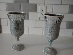 Mirror Glass Vases