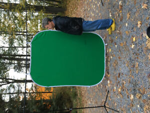 Green screen for photo and video