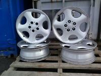 "WHY BUY STEEL **** 5X114.3 - 17"" MULTI FIT ALLOY RIMS !!"