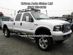 2006 Ford F-350 Lariat Diesel Crew 4x4 long Box Pickup Truck