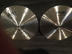 Hi hat Cymbals, Paiste, Zildjian Sabian- Professional Quality