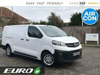 2020 Vauxhall Vivaro 1.5 Dynamic LWB L2 EURO 6 Panel Van Diesel Manual