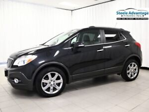 2016 Buick Encore Leather Heated Seats, NAV, Sunroof and 0% Fina
