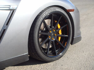 "21"" Strasse Staggered Set of Rims & Tires"