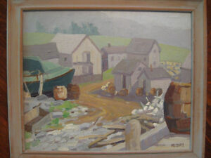 Collector Looking For Pre 1950's Canadian Maritime Artworks St. John's Newfoundland image 1