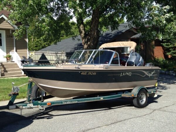 Used 1999 Lund Boat Co pro sport