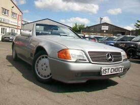 1990 MERCEDES SL300 SL300 24 VALVE JUST 50000 MILES BY 2 OWNERS REMARKABLE