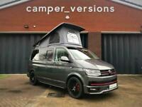 VW T6 Campervan HIGHLINE 8k Miles Air Con RIB Bed Eberspacher