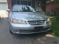 2002 Honda Accord SE Automatic,4 Door fully loaded with Certify&