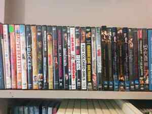 Dvds, VHS and CDs movies