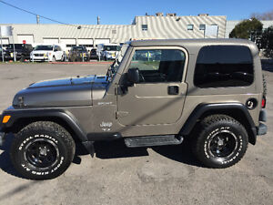 2003 Jeep TJ Coupe (2 door) 4.0