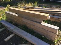 """6"""" by 6"""" Pressure Treated Posts"""