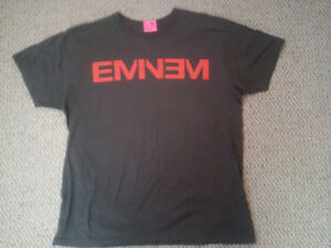 Men's Large Grey Eminem T-Shirt