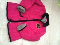 Pineapple jacket age 6-7