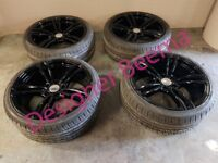 BMW M3 M4 Style Black 19'' Alloy Wheels - 235/35/19 E90 E91 E92 E93 F30 F31 Z4