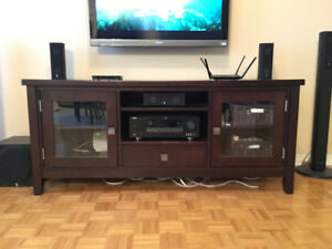 TV Stand / TV Console / Media Console Component Stand Wooden