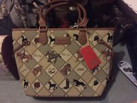 Women's hand bag equine new with tags