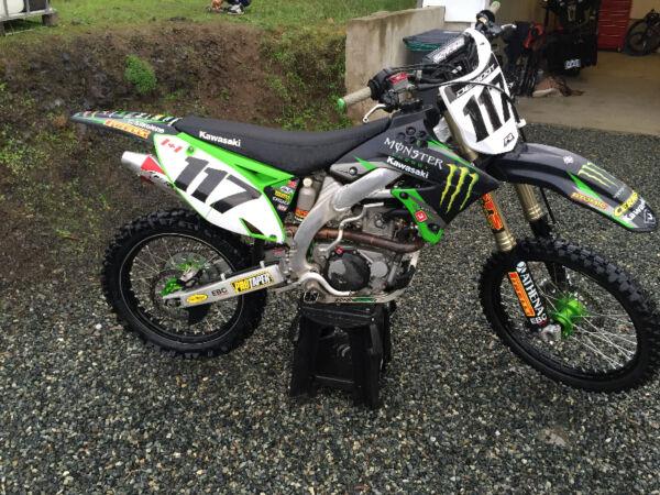Used 2009 Kawasaki KXF