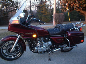 Beautiful Wineberry Collectors Goldwing