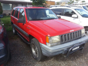 1993 Jeep Grand Cherokee SUV, Crossover