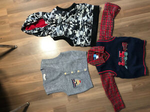 Cute Vest and shirt for boys