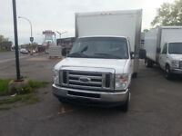 2009 Ford E450 DIESEL ** INSPECTION SAAQ COMPLETE**