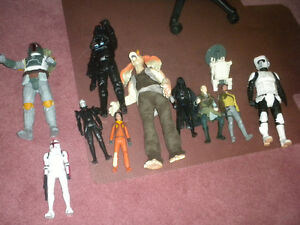 Star Wars toys and Painting