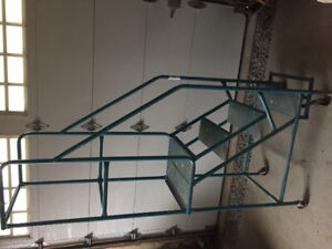 Rolling Cage Ladder