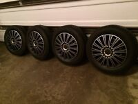 235/55R17 Ford Escape Winter Tires, Wheels, TPMS, Hubcaps