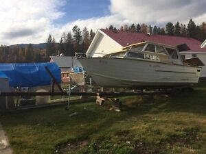 25' Starcraft boat and trailer