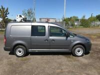 Volkswagen Caddy 1.6 TDI 102 PS WINDOW VAN DIESEL MANUAL GREY (2014)