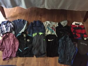 Boys Size 8-10 Clothes-Brand Names 12 Items (incl Wet Suit)