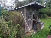Garden shed summer house