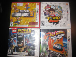 8 Good Nintendo 3DS/DS Games (all used, with cases) Pickup Only.